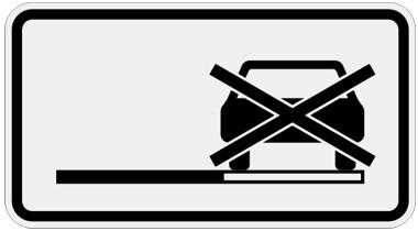 parken linke fahrbahnseite